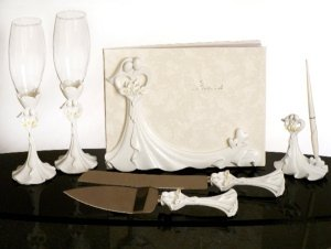 Calla Lily Bouquet Bridal Set image