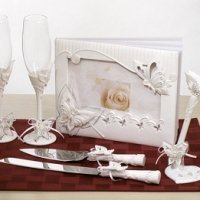 Butterfly Wedding Accessories Set