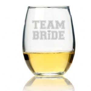 Team Bride Tall Stemless Wine Glass (Set of 4) image