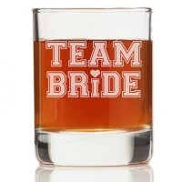 Team Bride Tall Rock Glasses (Set of 4)