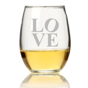 Modern Love Stemless Wine Glass (Set of 4) image