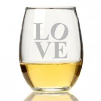 Modern Love Stemless Wine Glass (Set of 4)