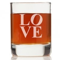 Modern Love Rock Glasses (Set of 4)