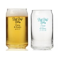 Best Day Ever Personalized Can Glass