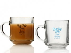 Best Day Ever Personalized Glass Coffee Mugs image