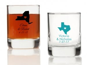State Love Personalized Votives or Shot Glass image