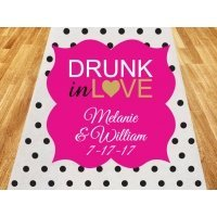 Drunk in Love Personalized Wedding Aisle Runner