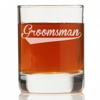 Groomsman Sport Rock Glasses (Set of 4)