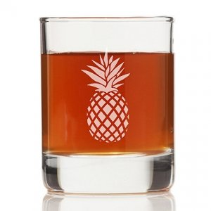 Pineapple Rock Glasses (Set of 4) image