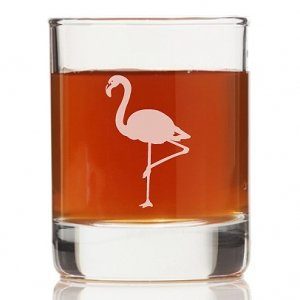 Flamingo Rock Glasses (Set of 4) image