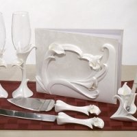 Calla Lily Themed Wedding Set