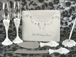 Elegant Lace Reception Set image