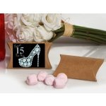 Dazzling Shoe Sweet 15 Pink Mint Favor Boxes