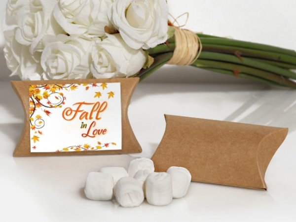 Wedding Favor Boxes White : Fall in love design white mint favor boxes