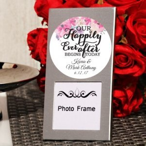 Happily Ever After Custom Mini Photo Frame Favor image