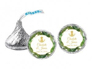 Palm Beach Glam Personalized Hershey's Kisses image
