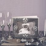 Fleur De Lis Collection Wedding Accessory Set