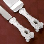 Wedding Coach Serving Set