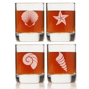 Seashell Design Shot Glass (Set of 4) image