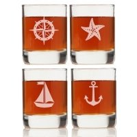 Nautical Collection Shot Glasses (Set of 4)