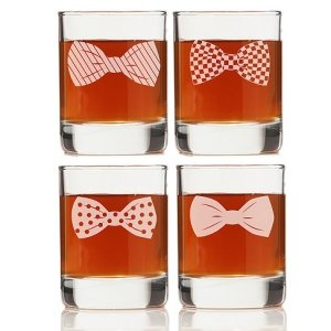 Bowties Collection Shot Glass (Set of 4) image