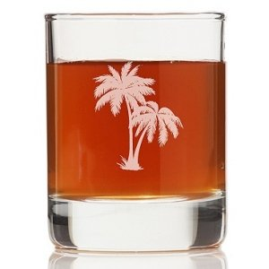 Palm Tree Shot Glass (Set of 4) image