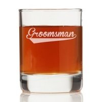 Groomsman Sport Shot Glass (Set of 4)