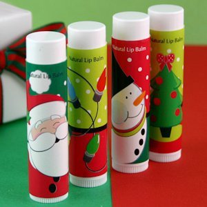 Holiday Design Lip Balm Favors image