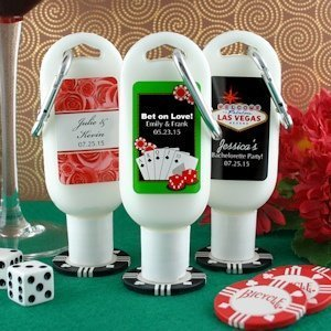 Personalized Sunscreen Las Vegas Party Favors image