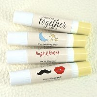 We Go Together Like - Personalized Double Sided Lip Balm
