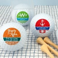 Personalized Silhouette Design Golf Balls