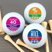 Adult Birthday Golf Ball Favors