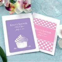 Personalized Cosmopolitan Bridal Shower Party Favors