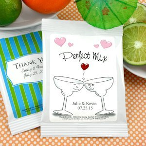 Personalized Wedding Margarita Mix Favors - Many Designs image