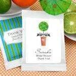Personalized Bridal Shower Margarita Mix Favors