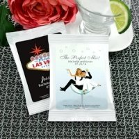 Las Vegas Personalized Margarita Mix Wedding Favors