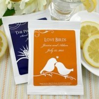 Personalized Silhouettes Lemon Drop Martini Mix Favors