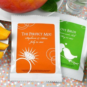 Personalized Silhouettes Mango Margarita Mix Party Favors image