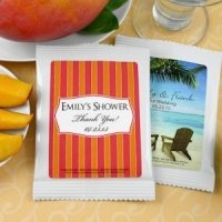 Personalized Bridal Shower Mango Margarita Favors