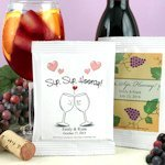 Personalized Wedding Sangria Party Favors - Many Designs