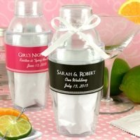 Cocktail Shaker Favor with Cosmopolitan Mix