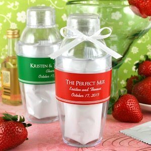 Personalized Cocktail Shaker with Strawberry Daiquiri Mix image