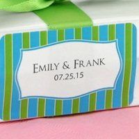 Personalized 2x1 Rectangle Favor Label (Many Designs)