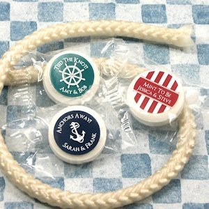 Nautical Design Life Savers Mint Favors image
