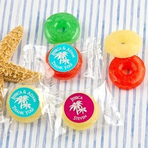 Beach Silhouette Fruit Flavors Life Savers Candies image