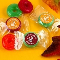 Autumn Silhouette Fruit Flavors Life Savers Candies
