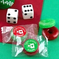 Poker Party Fruit Flavors Life Savers Candies