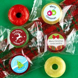 Holiday Designs Fruit Flavors Life Savers Candies image
