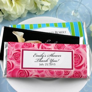 Hershey's Personalized Bridal Shower Candy Bar Favors image