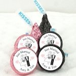 Personalized Wedding Hershey's Kisses (Many Designs)